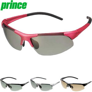 プリンス サングラス 一般 調整機能付き調光偏光サングラス 色眼鏡 調光偏光レンズ UVカット 調整可能ノーズパッド 専用セミハードケース付 フィット スポーティー アクセサリー 用具 用品