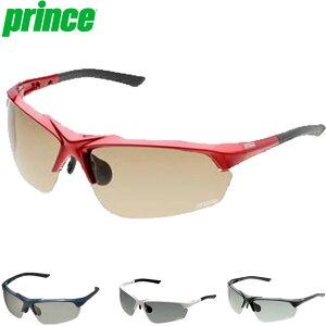 プリンス サングラス 一般 調整機能付き調光偏光サングラス 色眼鏡 調光機能 偏光機能 UVカット 調整可能ノーズパッド フィット ややワイドタイプ 専用セミハードケース付 スポーティー ア