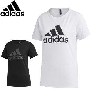 ネコポス アディダス Tシャツ レディース WMHBOSTシャツ 半袖シャツ ショートスリーブシャツ プラクティスシャツ ウエア 大文字 ビッグロゴ マルチスポーツ スポーティー アパレル カジュアル