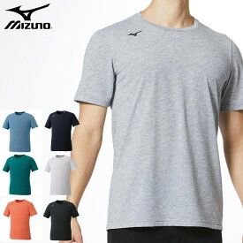ネコポス ミズノ トレーニングウエア メンズ Tシャツ MIZUNO 32MA0023 半袖 シャツ 綿のような肌触り 吸汗速乾 細身のシルエット スポーツウエア