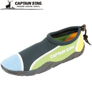 キャプテンスタッグ シューズ 一般 靴 マリンシューズ パッチワークネイビー L マリン アウトドア キャンプ レジャー 自然 用具 用品 小物 器具 アイテム グッズ アクセサリー 26.0-27.5 CAPTAIN ST