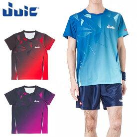 ネコポス ジュウイック スポーツウエア 卓球 メンズ アイスベルグ (ICEBERG) JUIC 5582 半袖シャツ 軽量 吸収速乾 トレーニングウエア ユニフォーム