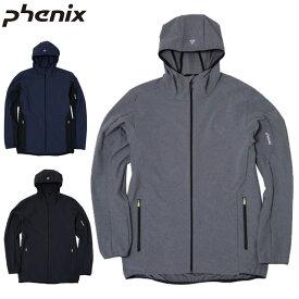 フェニックス ジャケット メンズ ソフトシェルジャケット Alert Soft Shell Jacket ライトアウター トップス ウエア 薄手 ハリ 4WAYストレッチ素材 撥水性 保温性 汎用性 再帰反射 ドロップテイル アパレル スポーツ スキー アウトドア S-XL Phenix PHA12WT15