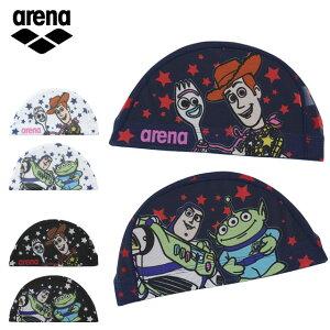 ネコポス アリーナ 水泳 スイムキャップ メンズ レディース トイ・ストーリーデザイン メッシュキャップ DIS0359 arena ディズニー 水泳帽 ポップなカラー スイムアクセサリー