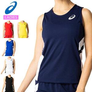 ネコポス アシックス スポーツウエア レディース W'Sランニングシャツ asics 2092A086 タンクトップ トレーニングウエア
