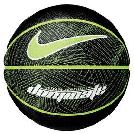 ナイキ バスケット ボール ドミネート 8P NIKE BS3004-944 7号 屋外のプレーに適した耐久性のある素材 944 ブラック/ボルト