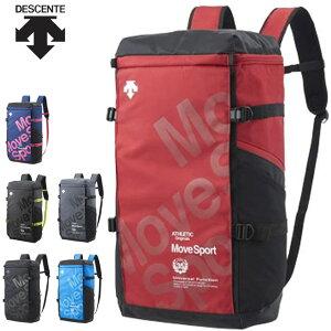 デサント スポーツバッグ メンズ レディース スクエアバッグ L DESCENTE DMANJA05 リュック バックパック 40L 大容量 収納マルチ型ポケット カジュアルバッグ