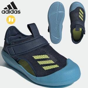 アディダス サンダル キッズ アルタベンチャー FY8928 子供用 ジュニア シューズ ベルクロ プール 水遊び カジュアル adidas ALTAVENTURE SANDALS