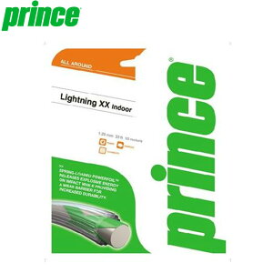 プリンス 硬式ガット テニス SQ ライトニングXX17 CLA 弾きの良い スカッシュ専用ストリングス ロット数5 用具 用品 一般 prince 7Q33211