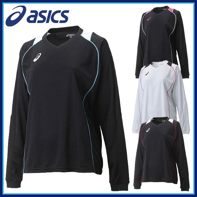 asics アシックス バレーボールウェア 練習着 長袖シャツ WSプラシャツLS レディース 女性用 XW6419