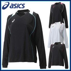 ネコポス asics アシックス バレーボールウェア 練習着 長袖シャツ WSプラシャツLS レディース 女性用 XW6419