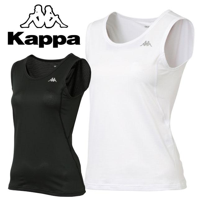 Kappa (カッパ) スポーツアパレル シャツ・インナー KM462UT80 ノースリーブ アンダーシャツ マルチ トレーニング タンクトップ 【レディース】