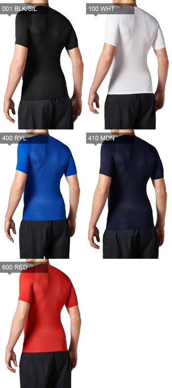 アンダーアーマーメンズインナーアンダーシャツ半袖ベースレイヤー丸首UAヒートギアアーマーコンプレッションSSクルー野球ソフトボールベースボールトレーニングランニング1313259UNDERARMOUR