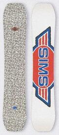 SIMS シムス 19-20モデル スノーボード 板 フリーライド カービング 【 送料無料 】 UNDER TAKER アンダーテイカー 正規品 【ご注文された商品は3日以内であればキャンセルを受け付けます。】