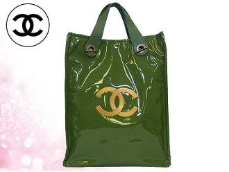 香奈儿 Chanel 香奈儿 ★ 袋 (手提袋) 绿色香奈儿/哈罗德 x 廉价哈罗德合作与 2WAY 手提包 (限量版)! 妇女的品牌销售店销售通勤 2014年母亲的一天的 YR 限制的价格回