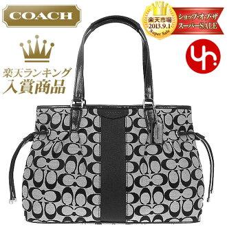 ... And writing coach COACH ☆ reviews! Bags (tote bag) F28501 black white  signature ... bc68c5eb589e0