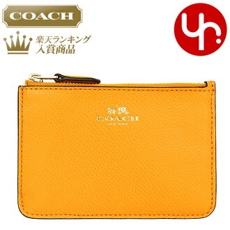 coach wallets sale outlet eu1u  Coach COACH wallet coin purse F64064 orange peel coach luxury cross-grain  leather Keyring skinny products at outlet prices cheap womens brand sale  store