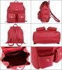 教练教练袋背包 F37410 经典红色教练鹅卵石皮革出口价格便宜的女装品牌销售比利背包产品存储销售通勤旅行 2016年夏季奖金 YR 限制的价格背囊回来