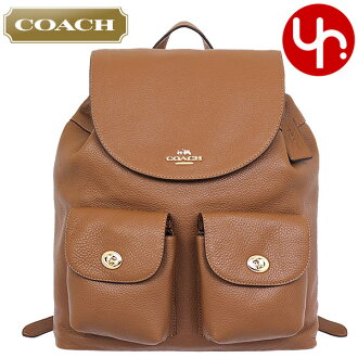 1a343fd22f9b Coach COACH bag backpack F37410 saddle coach pebbled leather Billy backpack  products at outlet prices cheap womens brand sale store SALE commuter  travel ...