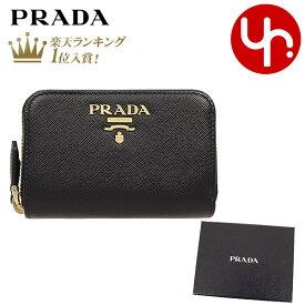 プラダ PRADA 財布 コインケース 1ML039 QWA ネロ 特別送料無料 サフィアーノ レザー メタル レタリング ロゴ ダブル ジップ カード コイン ケース レディース ブランド 通販 2021 ホワイトデー