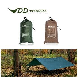 DDハンモック DDタープ 4m X 4m タープテント 日よけ シェード サンシェード テント おしゃれ Tarp DD Hammocks ddハンモック ddタープ 送料無料 あす楽