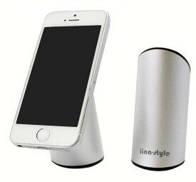 iina-style スマホ スタンド 卓上 iPhone7 / iPhone7Plus / Xperia / Galaxy / Pixel / Nexus / Huawei 各種スマホ対応 充電 可能 軽量仕様 取り外し お手入れ簡単 水洗いで吸着力復活 吸着スタンド adsorb stand スマホホルダー クレードル【スマホ用 -6.4インチまで】