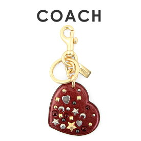 df6ff3b37ce3 【メール便送料無料】 コーチ COACH レディース バッグチャーム スターダスト スタッズ ハート バッグ