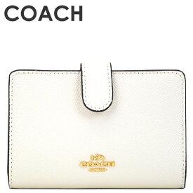 コーチ COACH レディース 財布 二つ折り財布 F11484 IMCHK(チョーク)