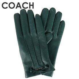 コーチ COACH レディース 小物 アパレル 手袋 (サイズ7/サイズ7H) F32708 M7Q(ダークターコイズ)【FKS】