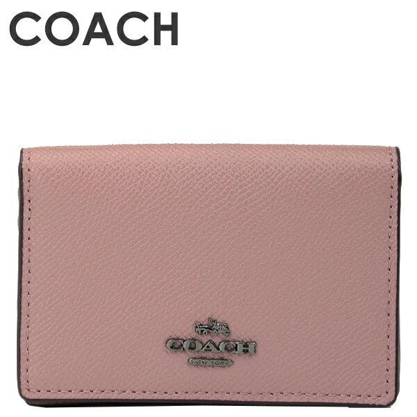 コーチ COACH レディース カードケース 名刺入れ 87254 DKDRO(ダスティローズ)【FKS】