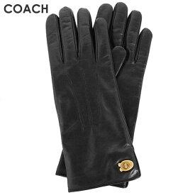 ★ コーチ COACH レディース 小物 アパレル 手袋 (サイズ7/サイズ7H) 32955 BLK(ブラック)【在庫処分】