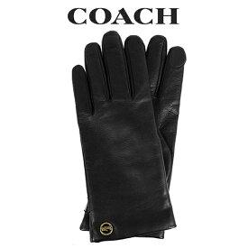 コーチ COACH レディース 小物 アパレル 手袋 (サイズ7/サイズ7H) F76310 BLK(ブラック)【FKS】