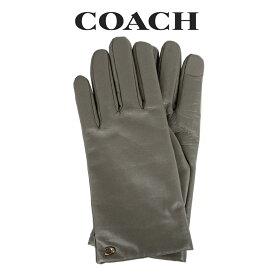 コーチ COACH レディース 小物 アパレル 手袋 (サイズ7/サイズ7H) 76014 P1N(グレー系)【FKS】