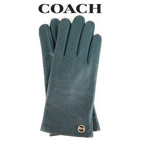 コーチ COACH レディース 小物 アパレル 手袋 (サイズ7/サイズ7H) F76310 TEA(ティール) グリーン【FKS】
