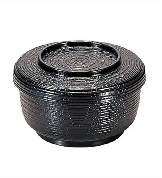 若泉漆器 割子飯器 黒 1−224−5 6-2204-2201 RHV35