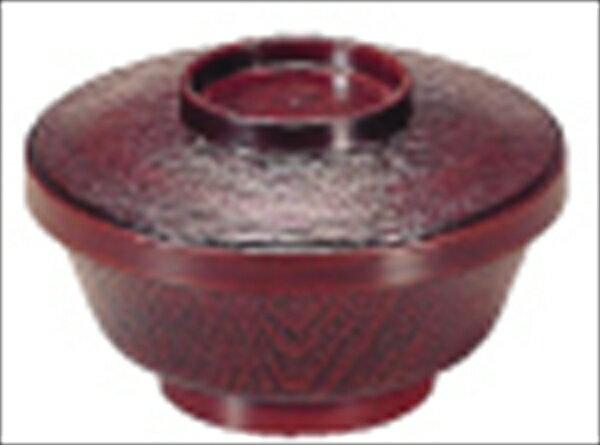 若泉漆器 まゆ型飯器 トチ内朱 1−225−6 6-2204-3101 RHV43