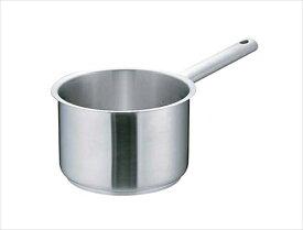 遠藤商事 ムラノ インダクション18−8片手深型鍋 [(蓋無)16] [7-0006-0101] AKTD101