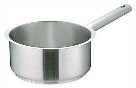 遠藤商事 ムラノ インダクション18−8片手浅型鍋 [(蓋無)18] [7-0006-0202] AKTD302
