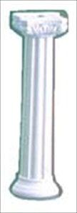 直送品■ウェディングケーキ樹脂製ピラー Cタイプ[FB922][8-1710-0701] NPL13