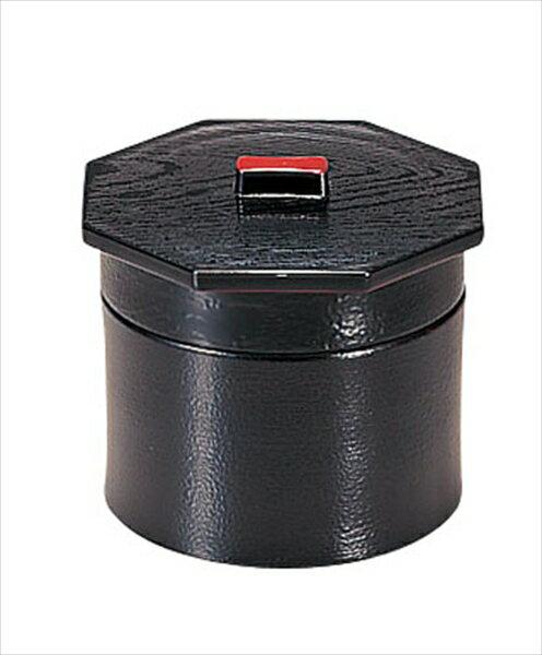 若泉漆器 3寸武蔵野椀 黒刷毛目2段 1−229−2 6-2204-2001 RHV23