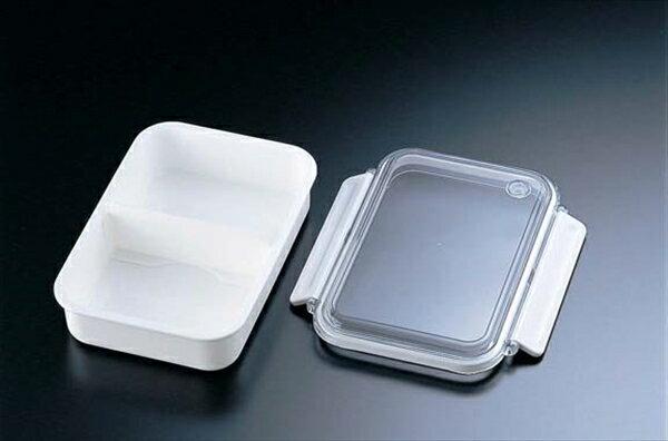 オーエスケー 食洗機対応保存容器 タイトボックス PCL−1S(仕切付) 6-0212-0703 RTI4503