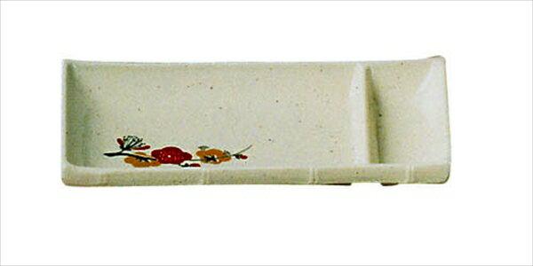 エンテック メラミン「元禄梅」 竹型刺身皿 U−32 6-2194-1701 RSS26