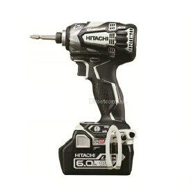 HiKOKI[ 日立工機 ]  18V 6.0Ah インパクトドライバー WH18DDL2 【電池1個仕様 】スピーディーホワイト