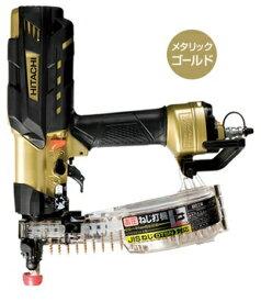 HiKOKI[ 日立工機 ]  高圧ねじ打機 ●WF4H3 【ケース付セット】メタリックゴールド