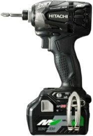 ★マルチボルト★ HiKOKI[ 日立工機 ]  36V インパクトドライバ WH36DA(2XPB) 黒【BSL36A18電池付 フルセット】