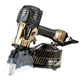 HiKOKI[ 日立工機 ]  高圧ロール釘打機 NV65HR2(S) ハイゴールド【ケース付セット】 ★パワー切替機構付