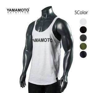 YAMAMOTO NUTRITION ヤマモトニュートリジョン HC Tank Topタンクトップ ノースリーブ 黒 BLACK ブラック メンズ 筋トレ ジム ウエア スポーツウェア フィジーク ボディビル イタリア 正規品[衣類]