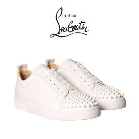 クリスチャン ルブタン 正規品 スニーカー Christian Louboutin Shoes White Men ホワイト シューズ 靴 ローカット メンズ ブランド おしゃれ 1130573 [靴]