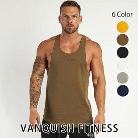 ヴァンキッシュ フィットネス 新作 VANQUISH FITNESS CORE MEN'S TANK TOP 2 ノースリーブ タンクトップ メンズ 筋トレ ジム ウエア スポーツウェア イギリス 正規品[衣類]