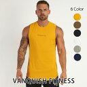 ヴァンキッシュ フィットネス 新作 VANQUISH FITNESS CORE MEN'S SLEEVELESS T SHIRT 2 スリーブレス Tシャツ ノース…